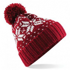 Childrens Fair Isle Winter Beanie Hat (B456B)